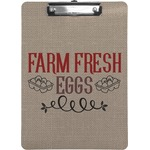 Farm Quotes Clipboard (Personalized)