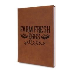 Farm Quotes Leatherette Journal (Personalized)