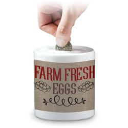 Farm Quotes Coin Bank (Personalized)