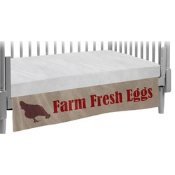 Farm Quotes Crib Skirt (Personalized)