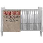 Farm Quotes Crib Comforter / Quilt (Personalized)