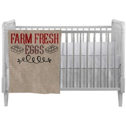 Farm Quotes Crib Comforter / Quilt (Personalized)