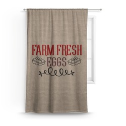 "Farm Quotes Curtain - 50""x84"" Panel (Personalized)"