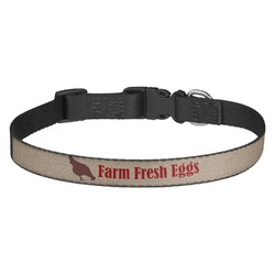 Farm Quotes Dog Collar - Multiple Sizes (Personalized)
