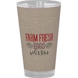 Farm Quotes Drinking / Pint Glass (Personalized)