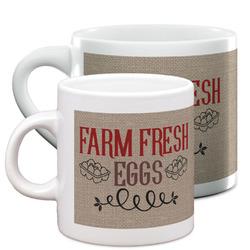 Farm Quotes Espresso Cups (Personalized)
