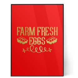 Farm Quotes 5x7 Red Foil Print (Personalized)