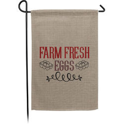 Farm Quotes Single Sided Garden Flag With Pole (Personalized)