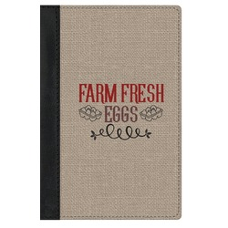 Farm Quotes Genuine Leather Passport Cover (Personalized)
