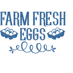 Farm Quotes Glitter Sticker Decal - Custom Sized (Personalized)