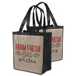 Farm Quotes Grocery Bag (Personalized)