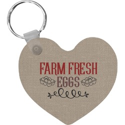 Farm Quotes Heart Keychain (Personalized)