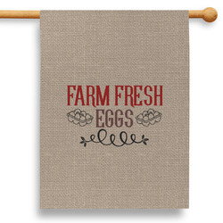 """Farm Quotes 28"""" House Flag - Double Sided"""