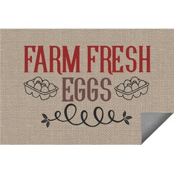 Farm Quotes Indoor / Outdoor Rug - 6'x9' (Personalized)