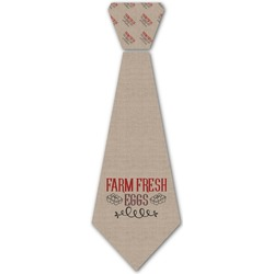 Farm Quotes Iron On Tie (Personalized)