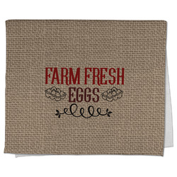 Farm Quotes Kitchen Towel - Full Print (Personalized)