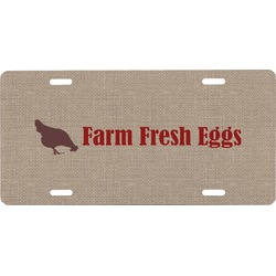 Farm Quotes Front License Plate (Personalized)