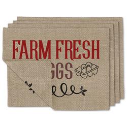 Farm Quotes Linen Placemat