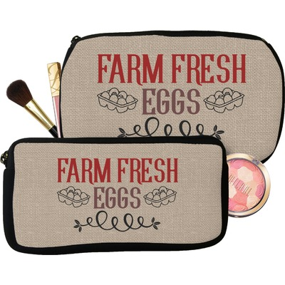 Farm Quotes Makeup / Cosmetic Bag (Personalized)