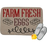 Farm Quotes Memory Foam Bath Mat (Personalized)
