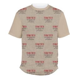 Farm Quotes Men's Crew T-Shirt (Personalized)