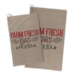Farm Quotes Microfiber Golf Towel