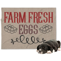 Farm Quotes Dog Blanket (Personalized)