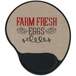 Farm Quotes Mouse Pad with Wrist Support