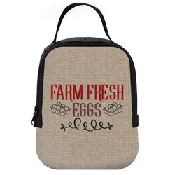 Farm Quotes Neoprene Lunch Tote (Personalized)