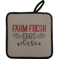 Farm Quotes Pot Holder (Personalized)