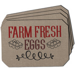 Farm Quotes Dining Table Mat - Octagon