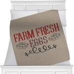 Farm Quotes Minky Blanket (Personalized)