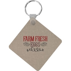 Farm Quotes Diamond Key Chain (Personalized)