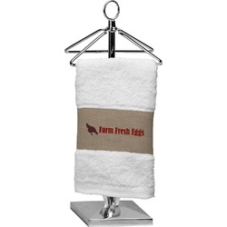 Farm Quotes Finger Tip Towel (Personalized)