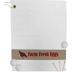 Farm Quotes Golf Towel (Personalized)