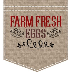 Farm Quotes Iron On Faux Pocket (Personalized)