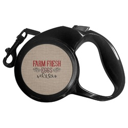 Farm Quotes Retractable Dog Leash - Multiple Sizes (Personalized)