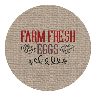 Farm Quotes Round Decal (Personalized)