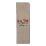 Farm Quotes Runner Rug - 3.66'x8' (Personalized)