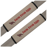 Farm Quotes Seat Belt Covers (Set of 2) (Personalized)