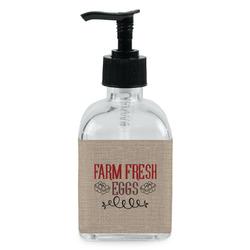 Farm Quotes Soap/Lotion Dispenser (Glass) (Personalized)