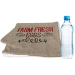 Farm Quotes Sports & Fitness Towel (Personalized)