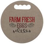 Farm Quotes Stadium Cushion (Round) (Personalized)