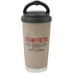 Farm Quotes Stainless Steel Coffee Tumbler (Personalized)