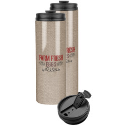 Farm Quotes Stainless Steel Skinny Tumbler