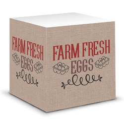 Farm Quotes Sticky Note Cube (Personalized)