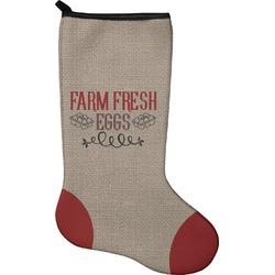 Farm Quotes Holiday Stocking - Neoprene