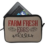 Farm Quotes Tablet Case / Sleeve (Personalized)