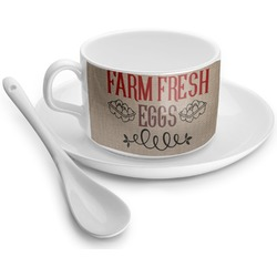 Farm Quotes Tea Cups (Personalized)