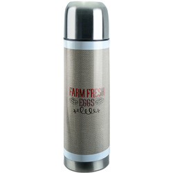 Farm Quotes Stainless Steel Thermos (Personalized)